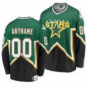 Wholesale Cheap Dallas Stars Custom Kelly Green Men's Heritage Premier Breakaway NHL Jersey