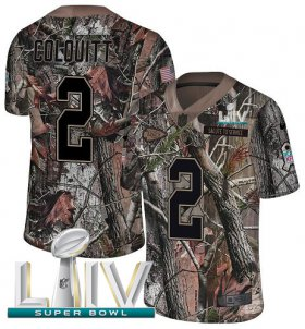 Wholesale Cheap Nike Chiefs #2 Dustin Colquitt Camo Super Bowl LIV 2020 Men\'s Stitched NFL Limited Rush Realtree Jersey