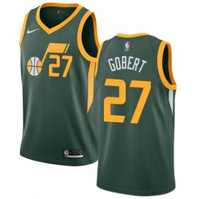 Wholesale Cheap Nike Jazz #27 Rudy Gobert Green NBA Swingman Earned Edition Jersey
