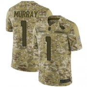 Wholesale Cheap Nike Cardinals #1 Kyler Murray Camo Men's Stitched NFL Limited 2018 Salute to Service Jersey