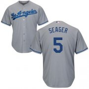 Wholesale Cheap Dodgers #5 Corey Seager Grey Cool Base Stitched Youth MLB Jersey