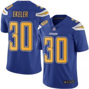 Wholesale Cheap Nike Chargers #30 Austin Ekeler Electric Blue Men's Stitched NFL Limited Rush Jersey