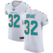 Wholesale Cheap Nike Dolphins #32 Kenyan Drake White Men's Stitched NFL Vapor Untouchable Elite Jersey