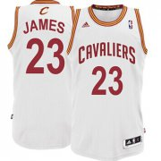 Wholesale Cheap Cleveland Cavaliers #23 LeBron James White Swingman Jersey