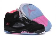 Wholesale Cheap WMNS Jordan 5 Shoes black/pink