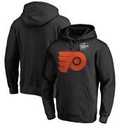 Wholesale Cheap Men's Philadelphia Flyers Black 2019 Stadium Series Primary Logo Pullover Hoodie