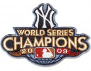 Wholesale Cheap Stitched 2009 New York Yankees MLB World Series Champions Jersey Patch