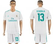 Wholesale Cheap Real Madrid #13 K.Casilla White Home Soccer Club Jersey