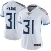 Wholesale Cheap Nike Titans #31 Kevin Byard White Women's Stitched NFL Vapor Untouchable Limited Jersey