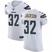 Wholesale Cheap Nike Chargers #32 Justin Jackson White Men's Stitched NFL Vapor Untouchable Elite Jersey