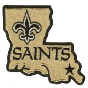 Wholesale Cheap Stitched New Orleans Saints Louisiana State Logo Jersey Patch