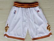 Wholesale Cheap Cleveland Cavaliers White Short