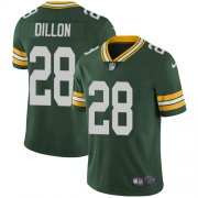Wholesale Cheap Nike Packers #28 AJ Dillon Green Team Color Youth Stitched NFL Vapor Untouchable Limited Jersey
