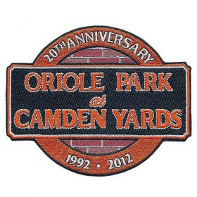 Wholesale Cheap Stitched Baltimore Orioles 20th Anniversary Jersey Patch