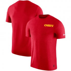Wholesale Cheap Kansas City Chiefs Nike On-Field Coaches UV Performance T-Shirt Red