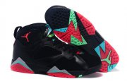 Wholesale Cheap Air Jordan 7 barcelona nights Shoes Black/Red-Blue-Green