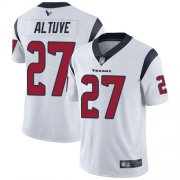 Wholesale Cheap Nike Texans #27 Jose Altuve White Youth Stitched NFL Vapor Untouchable Limited Jersey
