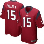 Wholesale Cheap Nike Texans #15 Will Fuller V Red Alternate Youth Stitched NFL Elite Jersey