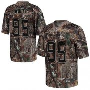 Wholesale Cheap Nike Broncos #95 Derek Wolfe Camo Men's Stitched NFL Realtree Elite Jersey