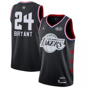 Wholesale Cheap Lakers #24 Kobe Bryant Black Basketball Jordan Swingman 2019 All-Star Game Jersey
