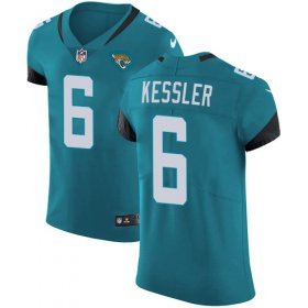 Wholesale Cheap Nike Jaguars #6 Cody Kessler Teal Green Alternate Men\'s Stitched NFL Vapor Untouchable Elite Jersey