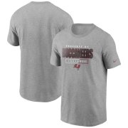 Wholesale Cheap Tampa Bay Buccaneers Nike Team Property Of Essential T-Shirt Gray
