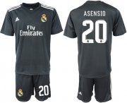 Wholesale Cheap Real Madrid #20 Asensio Away Soccer Club Jersey