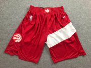 Wholesale Cheap Raptors Red Earned Edition Nike Swingman Shorts