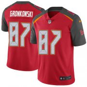 Wholesale Cheap Nike Buccaneers #87 Rob Gronkowski Red Team Color Men's Stitched NFL Vapor Untouchable Limited Jersey