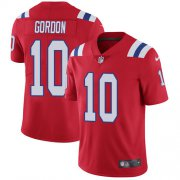 Wholesale Cheap Nike Patriots #10 Josh Gordon Red Alternate Men's Stitched NFL Vapor Untouchable Limited Jersey
