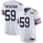 Wholesale Cheap Nike Bears #59 Danny Trevathan White Alternate Men's Stitched NFL Vapor Untouchable Limited 100th Season Jersey