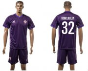 Wholesale Cheap Florence #32 Roncaglia Home Soccer Club Jersey