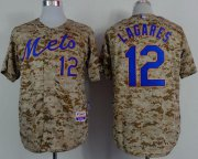 Wholesale Cheap Mets #12 Juan Lagares Camo Alternate Cool Base Stitched MLB Jersey