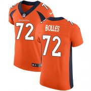 Wholesale Cheap Nike Broncos #72 Garett Bolles Orange Team Color Men's Stitched NFL Vapor Untouchable Elite Jersey