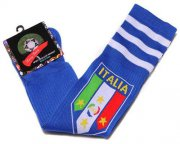 Wholesale Cheap Italy Soccer Football Sock Blue