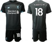 Wholesale Cheap Liverpool #18 Alberto M. Third Soccer Club Jersey
