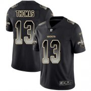 Wholesale Cheap Nike Saints #13 Michael Thomas Black Men's Stitched NFL Vapor Untouchable Limited Smoke Fashion Jersey