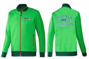 Wholesale Cheap NFL Seattle Seahawks Heart Jacket Green_2