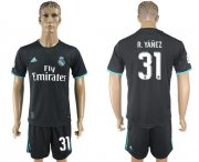 Wholesale Cheap Real Madrid #31 R.Yanez Away Soccer Club Jersey