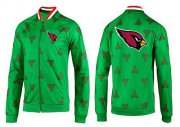 Wholesale Cheap NFL Arizona Cardinals Team Logo Jacket Green