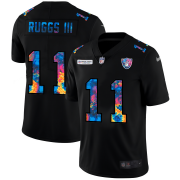 Cheap Las Vegas Raiders #11 Henry Ruggs III Men's Nike Multi-Color Black 2020 NFL Crucial Catch Vapor Untouchable Limited Jersey