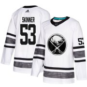 Wholesale Cheap Adidas Sabres #53 Jeff Skinner White Authentic 2019 All-Star Youth Stitched NHL Jersey