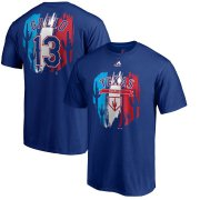 Wholesale Cheap Texas Rangers #13 Joey Gallo Majestic 2019 Spring Training Name & Number T-Shirt Royal