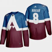 Wholesale Cheap Adidas Colorado Avalanche #8 Cale Makar Men's 2020 Stadium Series Burgundy Stitched NHL Jersey