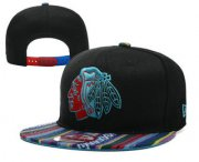 Wholesale Cheap Chicago Blackhawks Snapback Ajustable Cap Hat YD 4