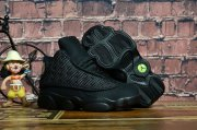 Wholesale Cheap Kids' Air Jordan 13 Retro Shoes Black Cat