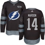 Cheap Adidas Lightning #14 Pat Maroon Black 1917-2017 100th Anniversary Stitched NHL Jersey
