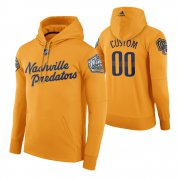 Wholesale Cheap Adidas Predators Custom Men's Yellow 2020 Winter Classic Retro NHL Hoodie