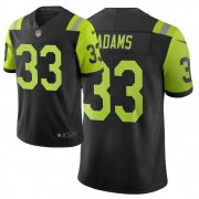 Wholesale Cheap Nike Jets #33 Jamal Adams Black Men's Stitched NFL Limited City Edition Jersey