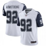 Wholesale Cheap Nike Cowboys #92 Dorance Armstrong White Men's Stitched NFL Limited Rush Jersey